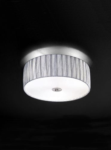 Franklite FL2283/3 Satin Nickel Ceiling Light